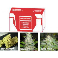 COLECCION 4  N‡N/MALAKOFF/DF 100% MEDICAL SEEDS