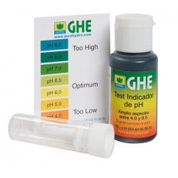 KIT TEST PH (30 GRS) GHE