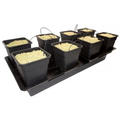 SISTEMA WILMA LARGE WIDE (8 X 18L POTS) NUTRICULTURE