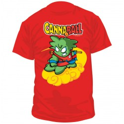 CAMISETA CANNABALL TALLA L